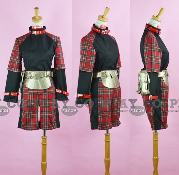Rin Cosplay Costume from Togainu no Chi