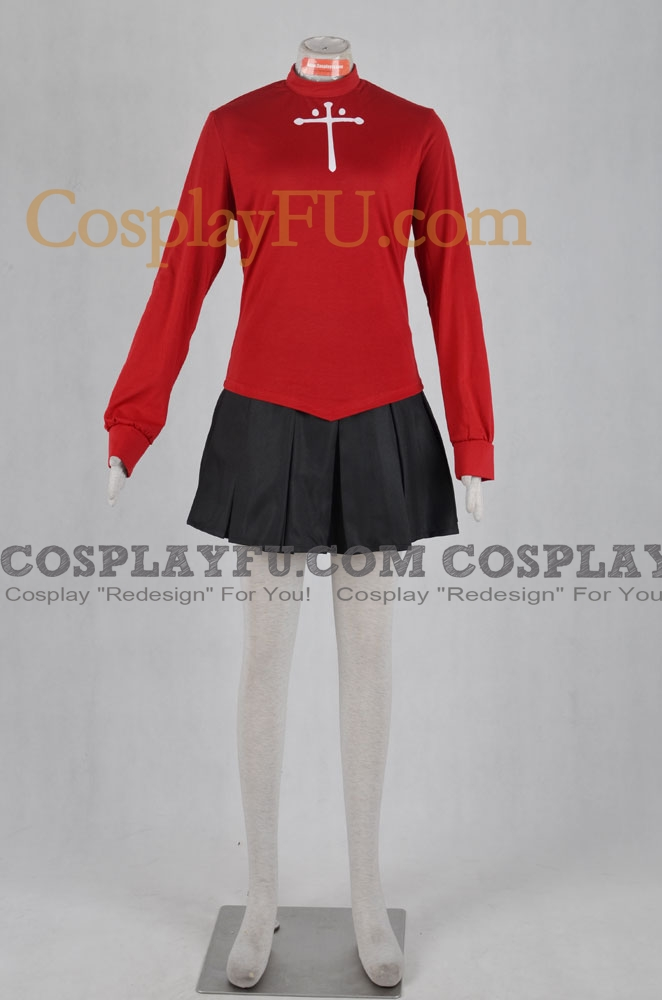 Fate stay night Rin Tohsaka Disfraz