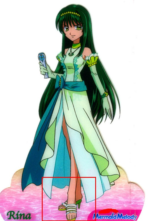 Rina Shoes from Mermaid Melody Pichi Pichi Pitch