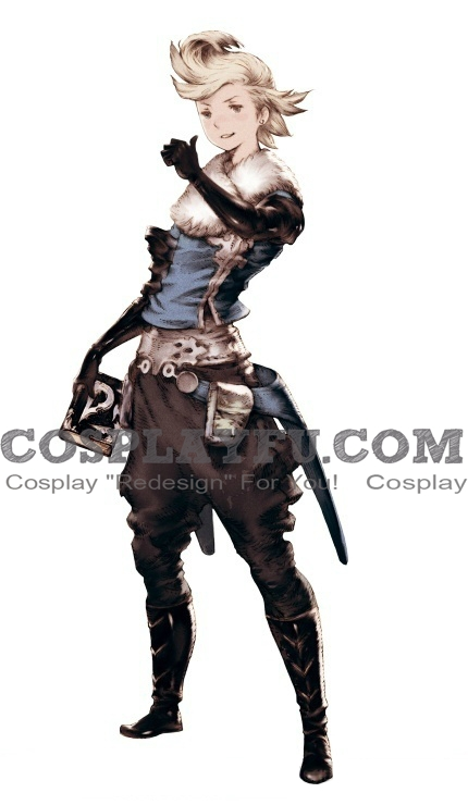 Ringabel Cosplay Costume from Bravely Default