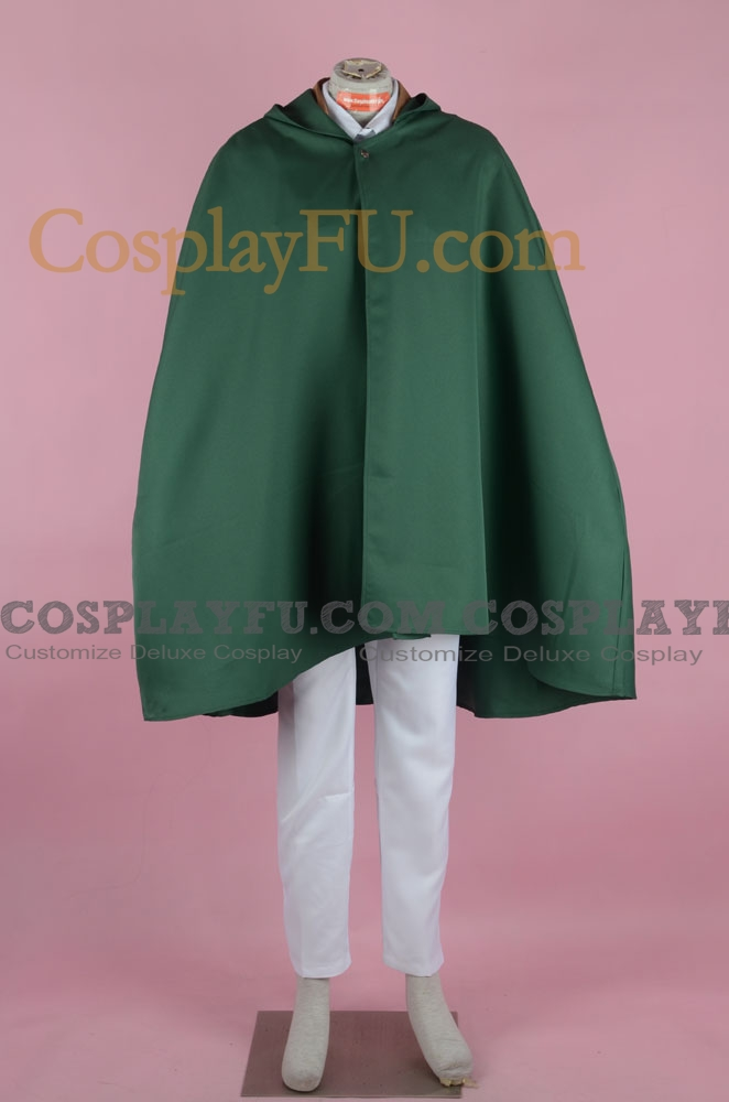 Rivaille Cosplay Costume (2nd) from Attack on Titan