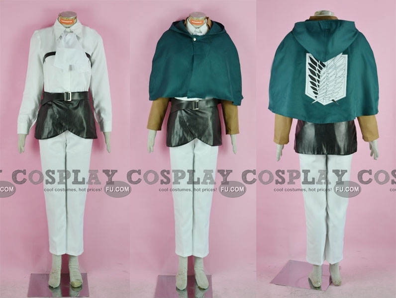 Rivaille Cosplay Costume from Attack on Titan