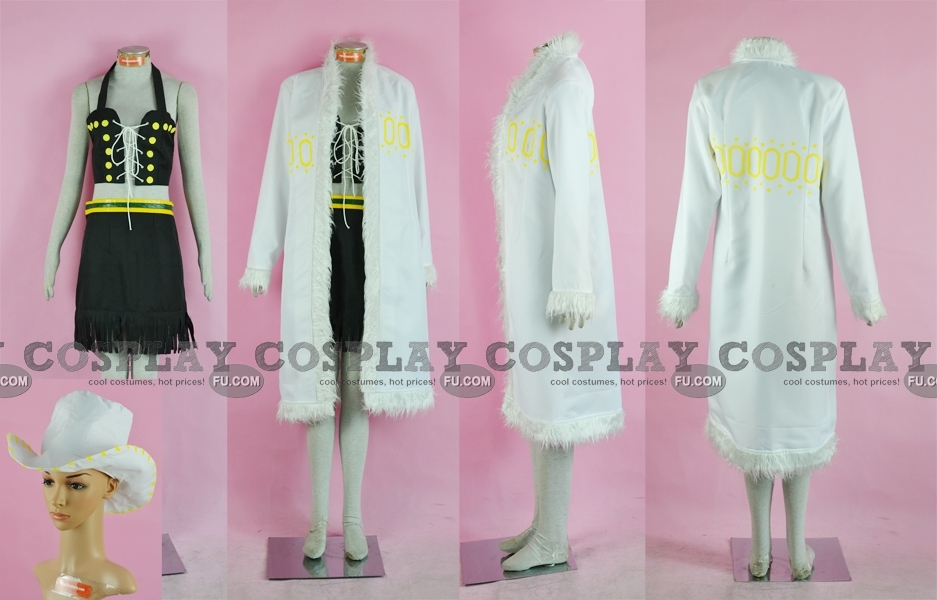 Robin Cosplay Costume (White) from One Piece