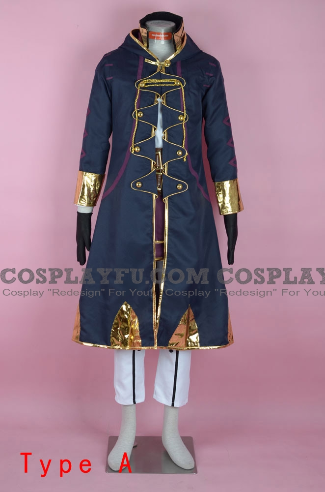 Robin Cosplay Costume from Fire Emblem Awakening