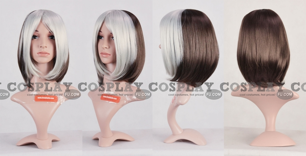 Rogue Wig (Grey) from X men
