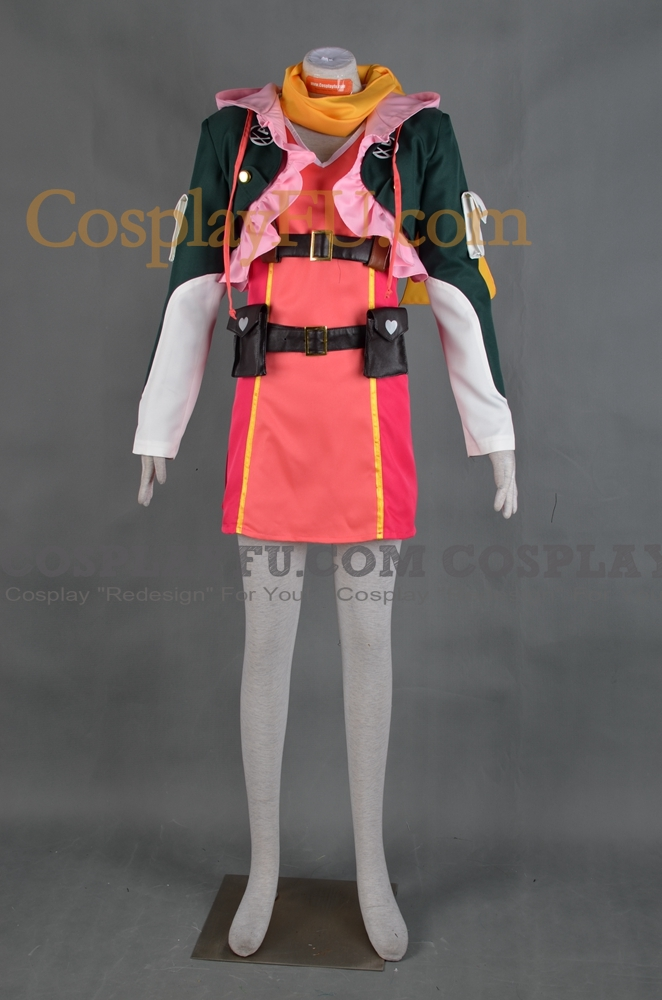 Rose Cosplay Costume (Upper Part) from Tales of Zestiria