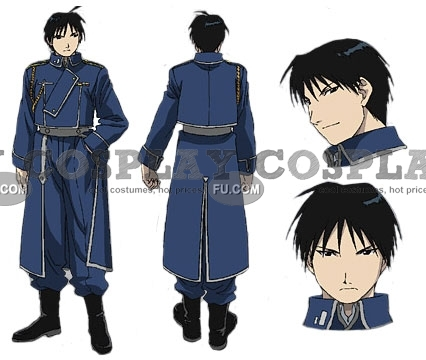 Fullmetal Alchemist Roy Mustang Costume (Female Version)