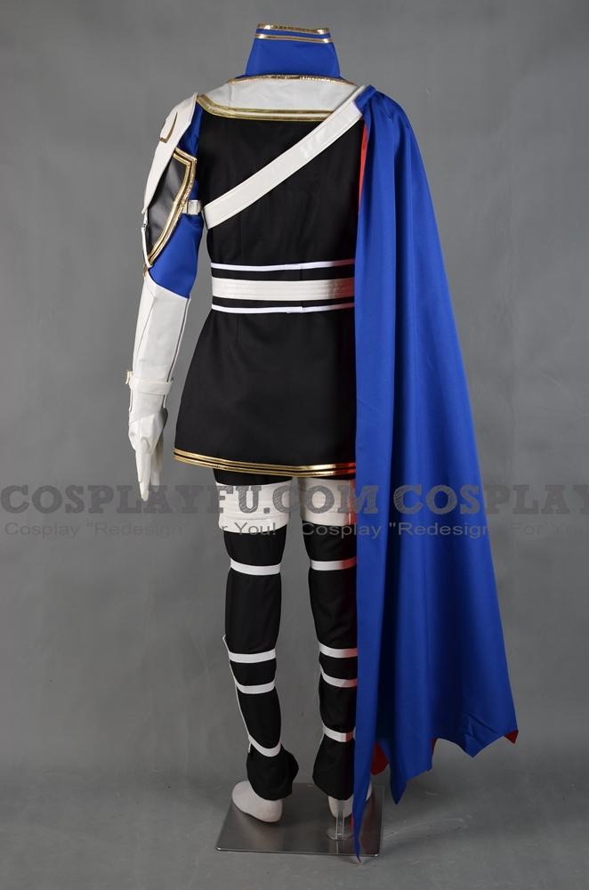 Custom Roy Cosplay Costume from Fire Emblem Binding Blade ...