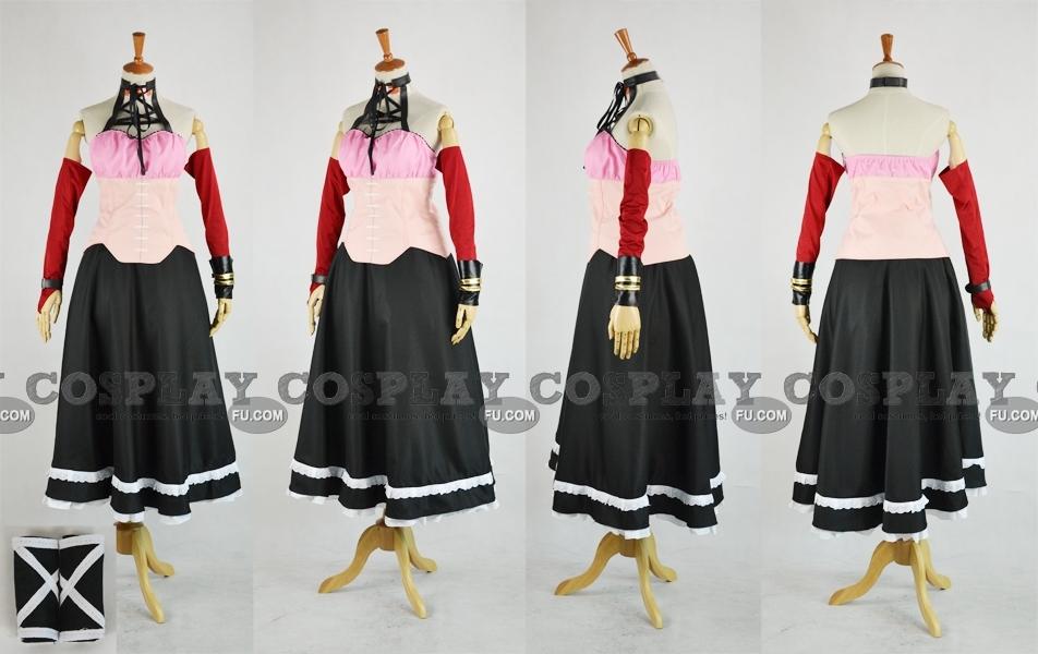 Rosario   Vampire Ruby Tojo Costume