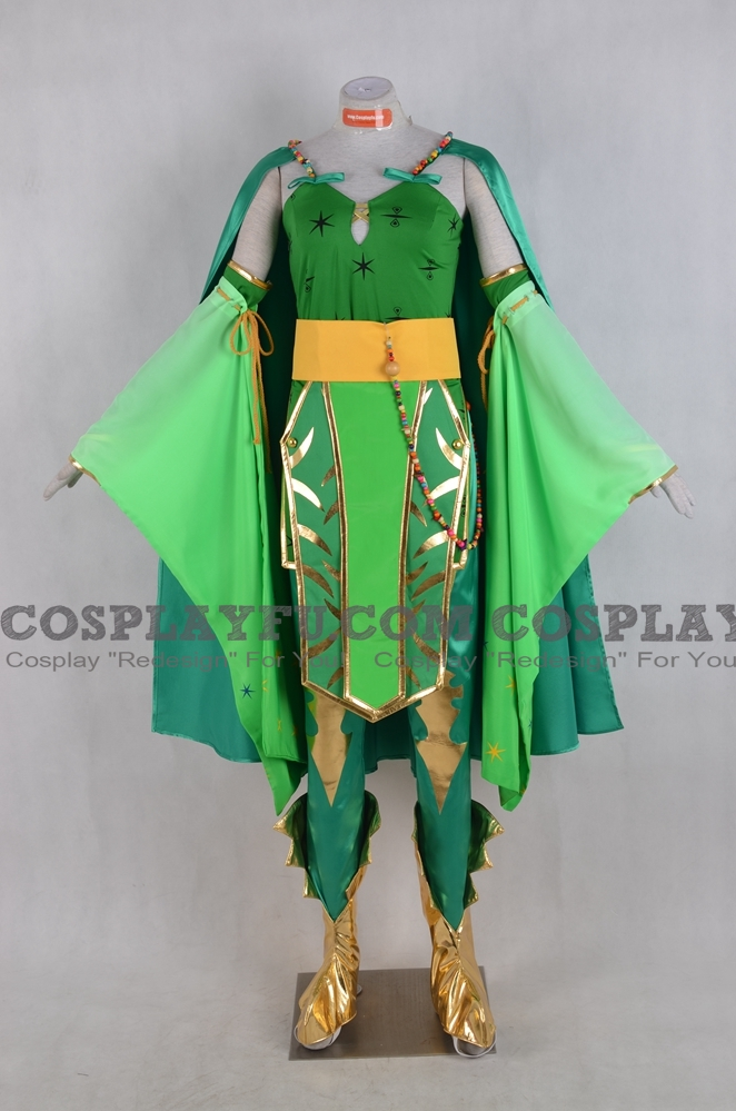 Rydia Cosplay Costume from Final Fantasy IV