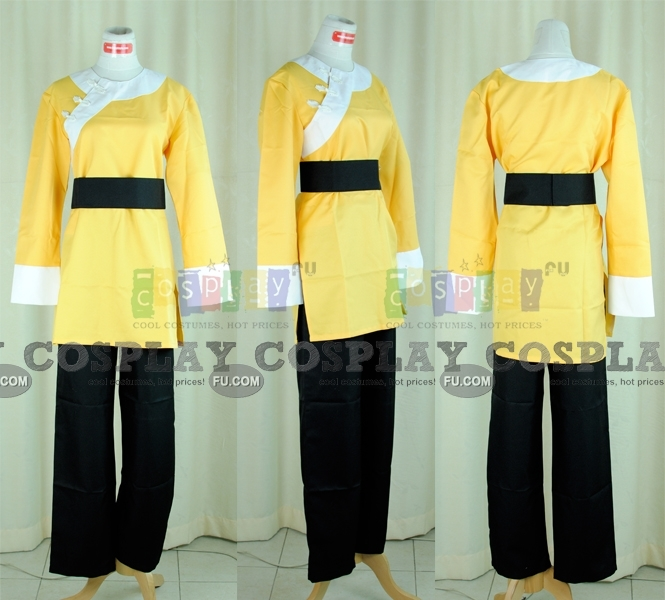 Ryoga Cosplay Costume from Ranma ½