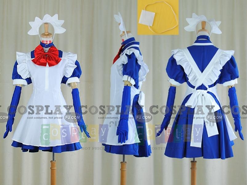 Школьные войны Рёмо Симэй Костюм (Maid Costume)