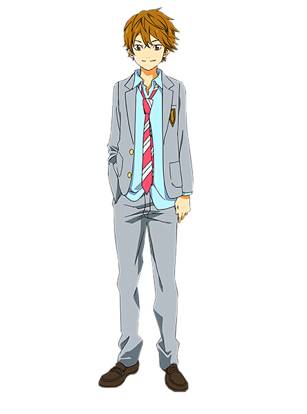 Ryota Watari Cosplay Costume from Your Lie in April