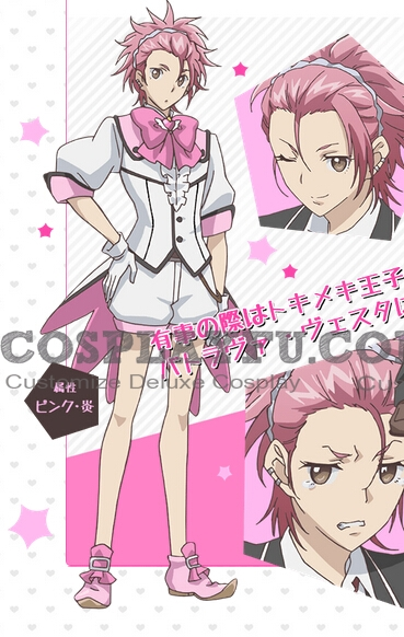 Ryu Cosplay Costume from Binan Koukou Chikyuu Bouei-bu Love