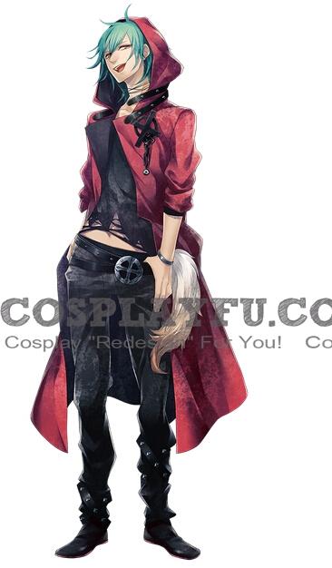 Ryuunosuke Tokiwa Cosplay Costume from Vamwolf Cross