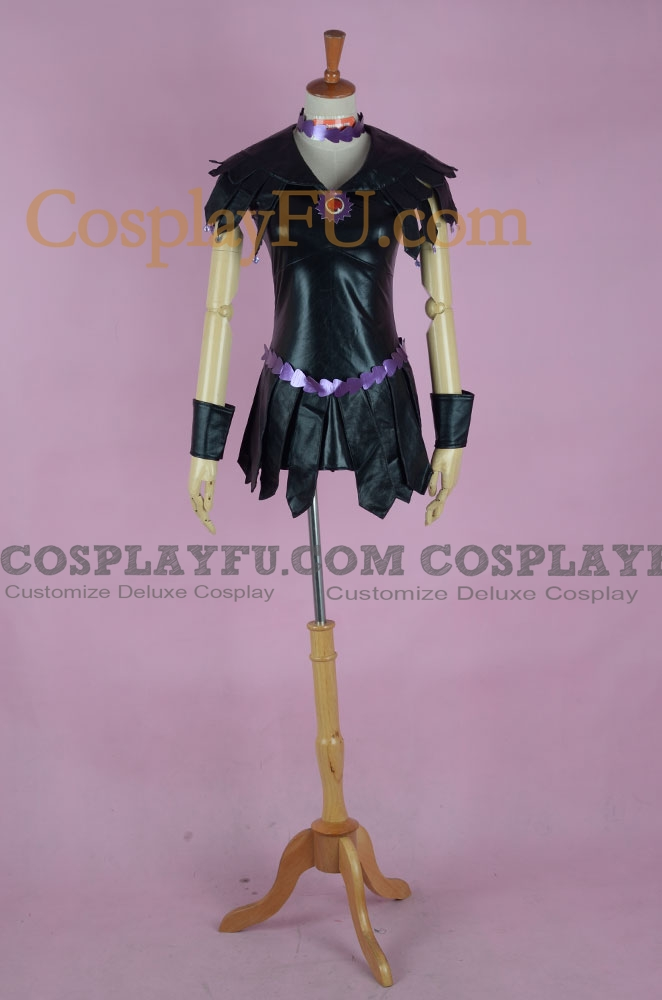 Sailor Galaxia Cosplay Costume (Black Version) from Sailor Moon