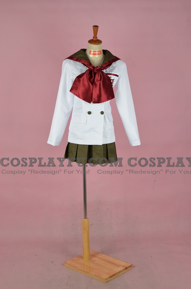 zu Deutsch Schöne Mädchenkriegerin Sailor Moon Geist des Feuers Kostüme (School Uniform)