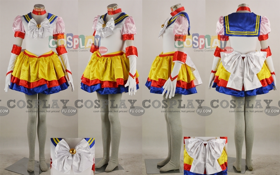 Sailor Moon Cosplay Costume from Sailor Stars