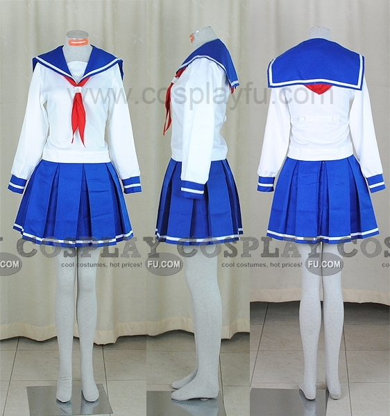 Saki Saki Miyanaga Costume (School Uniform)