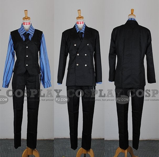 Sanji Cosplay Costume from One Piece