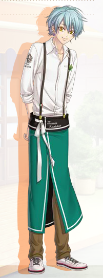 Saotome Cosplay Costume from Arcobaleno