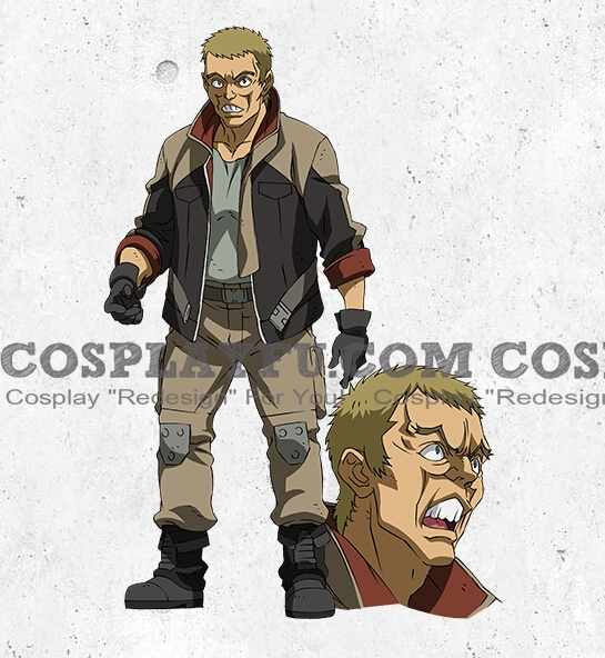 Sasai Cosplay Costume from Mobile Suit Gundam Iron Blooded Orphans