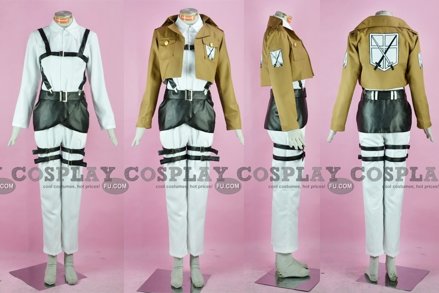 Sasha Cosplay Costume from Attack On Titan