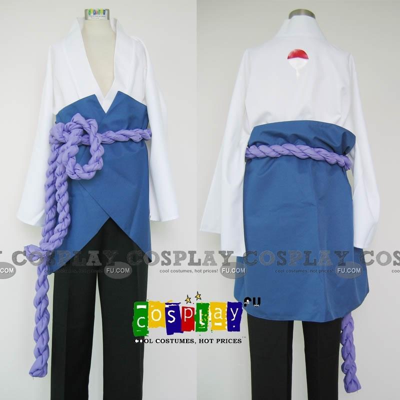 Sasuke Cosplay Costume from Naruto Shippuuden