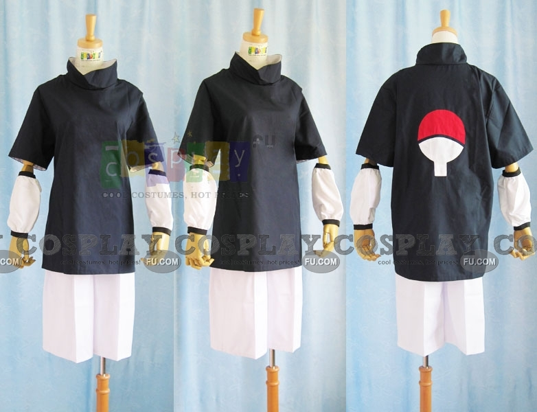 Sasuke Cosplay Costume from Naruto