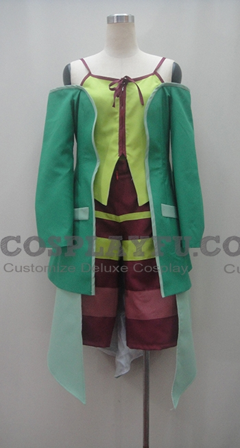 Sazanka Cosplay Costume from Genesis of Aquarion
