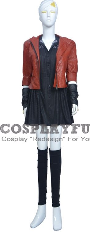 Scarlet Cosplay Costume from Avengers Age of Ultron