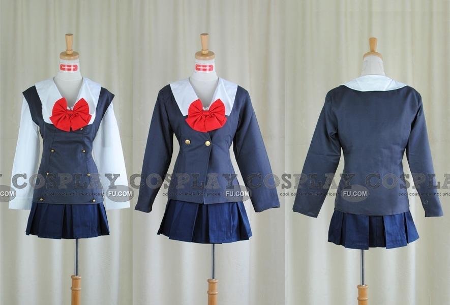 Kotonoha Cosplay Costume (Winter) from School Days