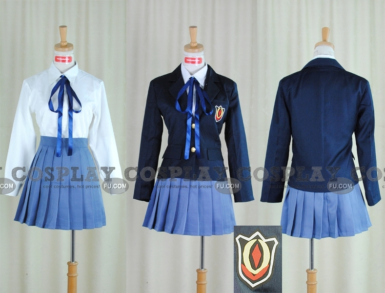 Custom School Girl Uniform Phyllis - Cosplayfucom-6683