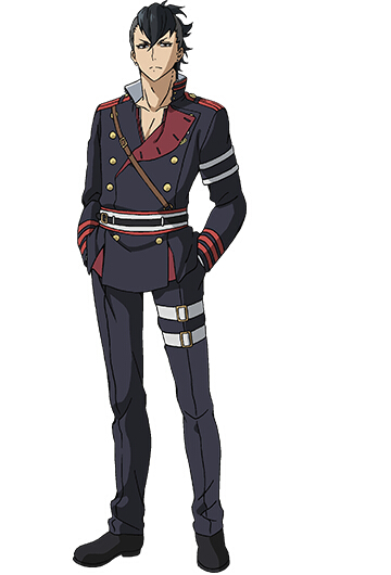 Seishiro Cosplay Costume from Seraph of the End