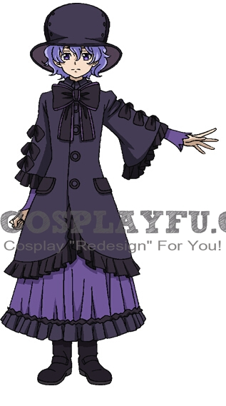 Setuna Cosplay Costume from Captain Earth