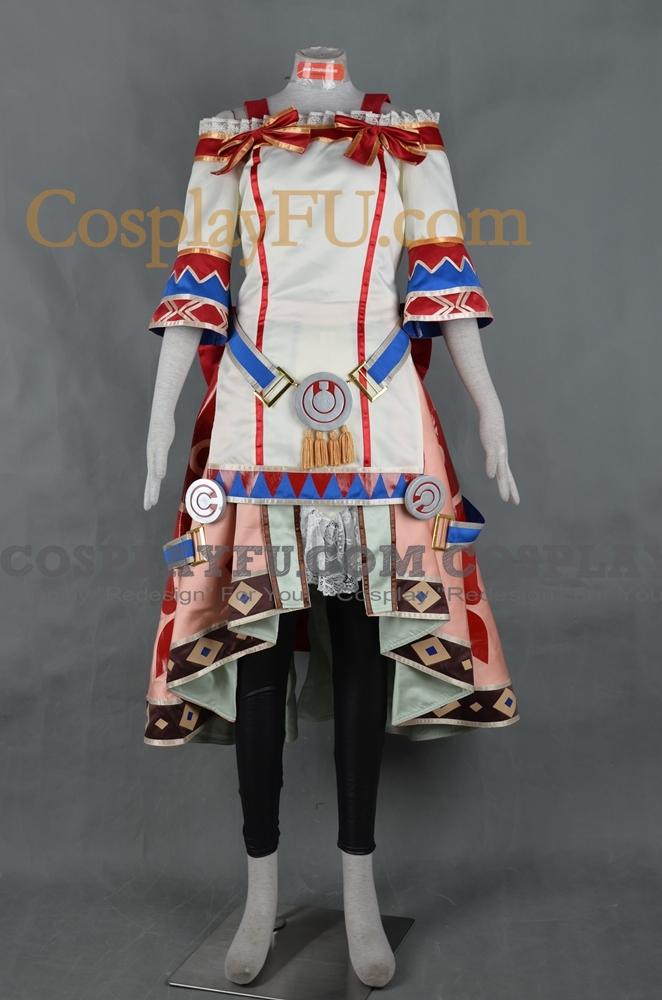 Shallistera Cosplay Costume from Atelier Shallie Alchemists of the Dusk Sea