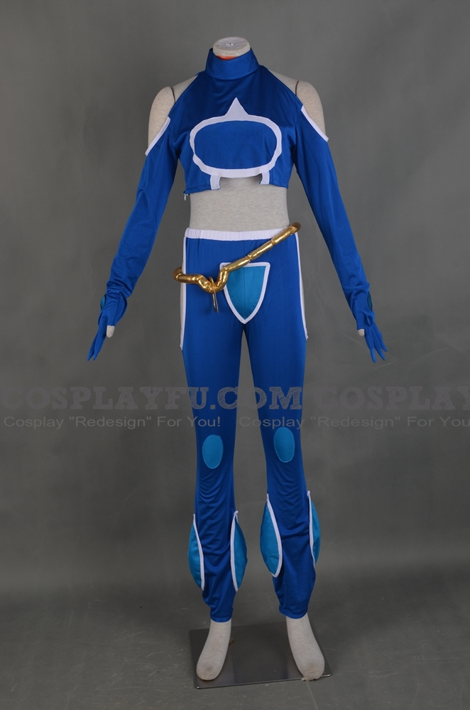 Shelly Cosplay Costume from Pokemon