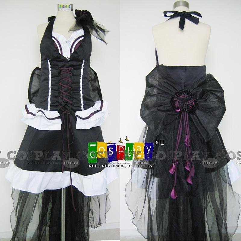 Macross Frontier Шерил Ноум Костюм (Classic Black Dress)