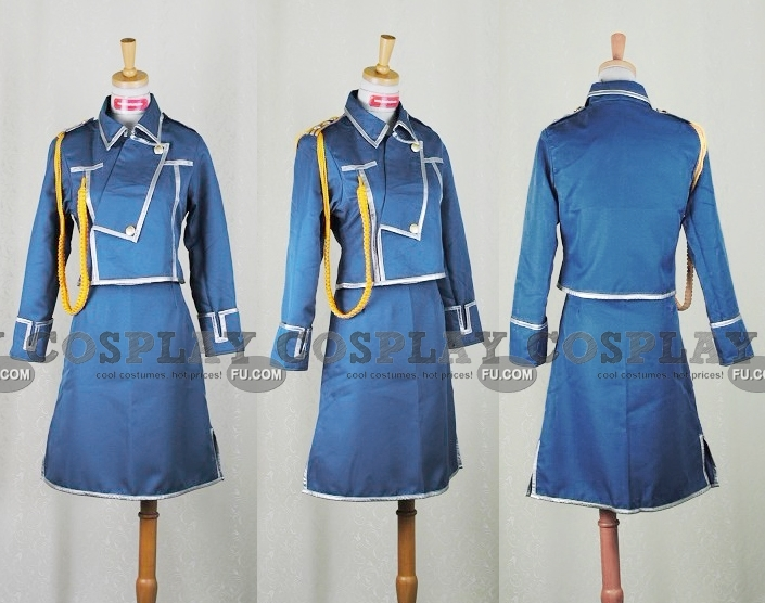 Sheska Cosplay Costume from FullMetal Alchemist