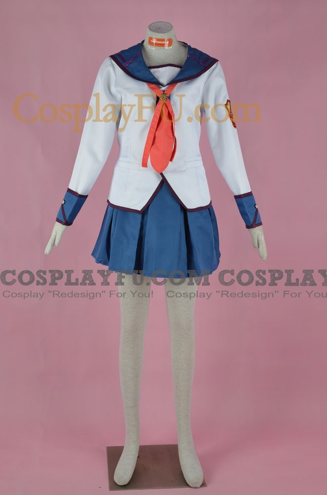 Angel Beats! Yuri Nakamura Costume (SSS Members)
