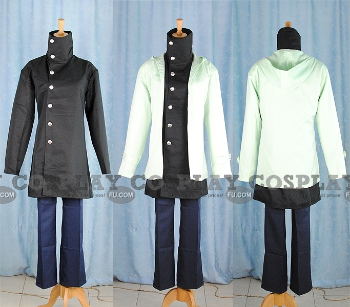 Shino Cosplay Costume from Naruto Shippuuden