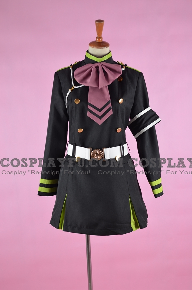 Shinoa Cosplay Costume from Seraph of the End