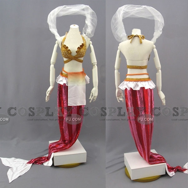 Shirahoshi Cosplay Costume from One Piece