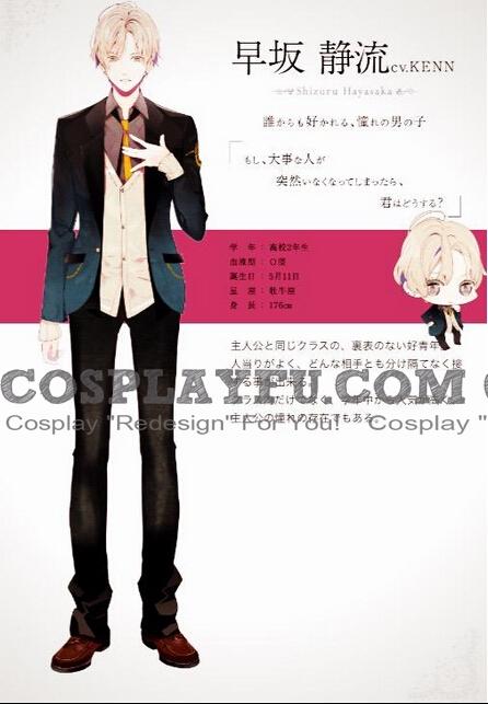 Shizuru Hayasaka Cosplay Costume from Re Birthday Song Koi wo Utau Shinigami