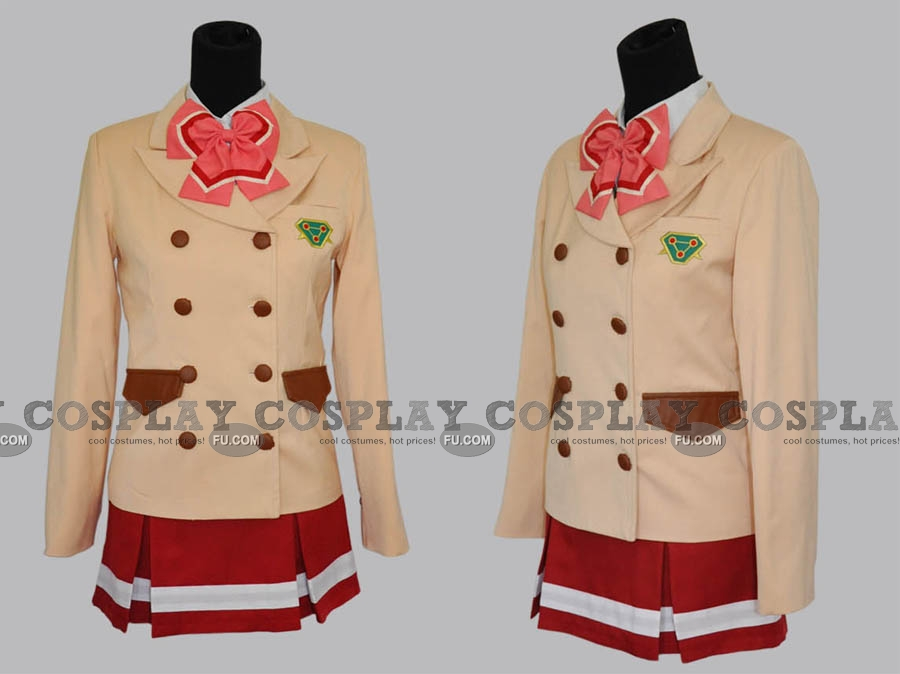 Shoko Cosplay Costume from Valvrave the Liberator