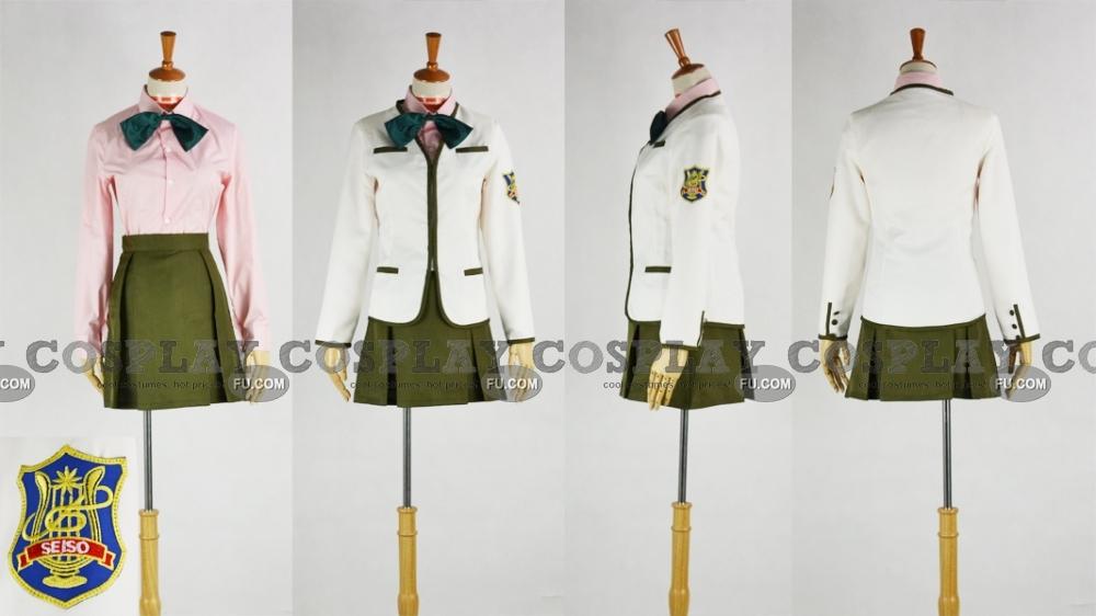 Золотая струна Шоко Фуюми Костюм (Uniform)