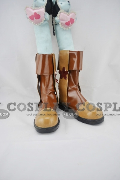 Shou Shoes (B343) from Dynasty Warriors 6