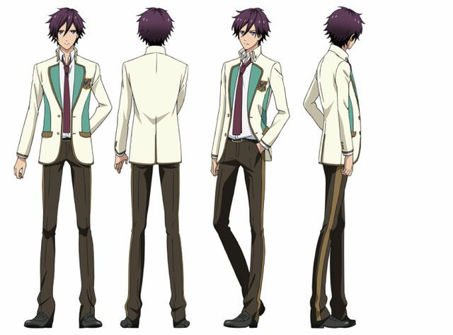 Shuu Cosplay Costume from High School Star Musical