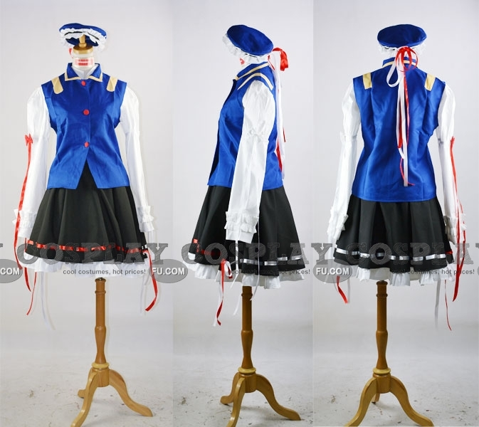 Sikieiki Cosplay Costume from Touhou Project
