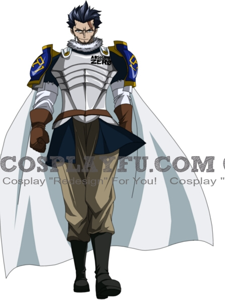 Silver Fullbuster Cosplay Costume (Tartaros) from Fairy Tail